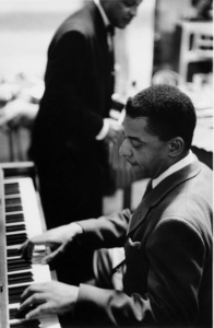 """The Benny Goodman Story,"" Universal 1955.Teddy Wilson and Lionel Hampton (backbround). © 1978 Bob Willoughby / MPTV - Image 13326_7"