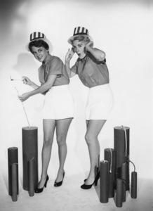 """""""Those Whiting Girls""""Margaret Whiting, Barbara Whitingcirca 1955Photo by Gabi Rona - Image 13332_0001"""