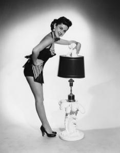 """Those Whiting Girls""Barbara Whitingcirca 1955Photo by Gabi Rona - Image 13332_0004"