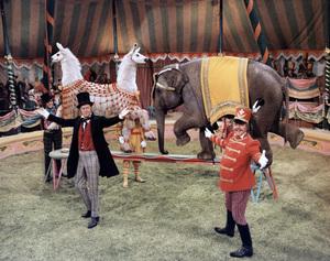 """Doctor Dolittle"" Anthony Newley, Rex Harrison, Richard Attenborough 1967 20th Century Fox © 1978 Ted Allan"