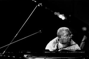 "Ellis Marsalis rehearsing for the ""Jazz Gipfel"" concert, Stuttgart, Germany, 1992. © 1978 Bob Willoughby / MPTV - Image 13364_18"