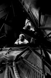 "Ellis Marsalis rehearsing for the ""Jazz Gipfel"" concert, Stuttgart, Germany, 1992. © 1978 Bob Willoughby / MPTV - Image 13364_23"