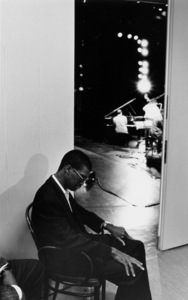 "Marcus Roberts backstage at the ""Jazz Gipfel"" concert, Stuttgart, Germany, 1992. © 1978 Bob Willoughby / MPTV - Image 13365_41"