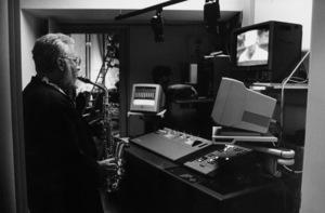 "Lee Konitz rehearsing for the ""Jazz Gipfel"" concert, Stuttgart, Germany, 1992. © 1978 Bob Willoughby / MPTV - Image 13369_29"