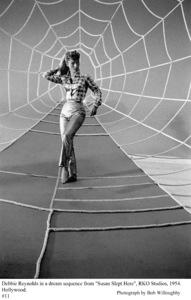 """""""Susan Slept Here"""" Debbie Reynolds on the set1954 RKO © 1978 Bob Willoughby - Image 1338_0009"""