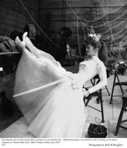 """""""Susan Slept Here"""" Debbie Reynolds on the set1954 RKO © 1978 Bob Willoughby - Image 1338_0012"""