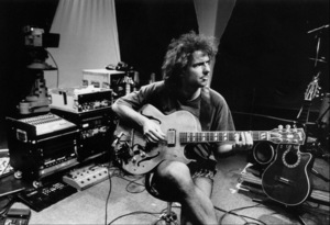 "Pat Metheny at the sound check for at the ""Jazz Gipfel"" concert, Stuttgart, Germany, 1992. © 1978 Bob Willoughby / MPTV - Image 13398_9"