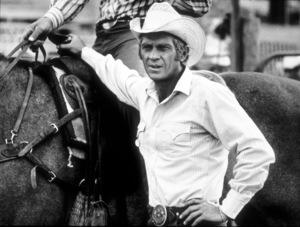 """Junior Bonner""Steve McQueen on location in Arizona1971 ABC / Booth-Gardner © 1978 Bob WilloughbyMPTV - Image 1340_0001"