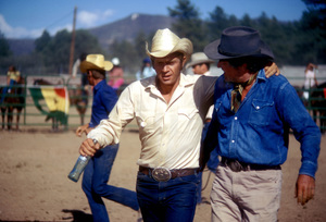 """Junior Bonner""Steve McQueen, Robert Preston1972 Solar Productions © 1978 Bob Willoughby - Image 1340_0012"