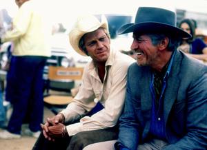 """Junior Bonner""Steve McQueen, Robert Preston1972 Solar Productions © 1978 Bob Willoughby - Image 1340_0013"
