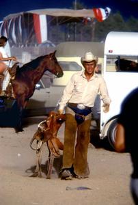 """Junior Bonner""Steve McQueen1972 Solar Productions © 1978 Bob Willoughby - Image 1340_0027"