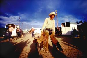 """Junior Bonner""Steve McQueen1972 Solar Productions © 1978 Bob Willoughby - Image 1340_0028"