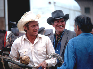 """Junior Bonner""Steve McQueen, Robert Preston, Director Sam Peckinpah1972 ABC © 1978 Bob Willoughby - Image 1340_0032"