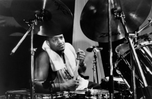 "Ricky Wellman at the ""Jazz Gipfel"" concert, Stuttgart, Germany, 1992. © 1978 Bob Willoughby / MPTV - Image 13410_11"
