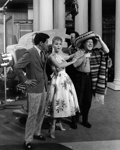 """The Eddie Fisher Show""Eddie Fisher, Debbie Reynolds, George Gobelcirca 1958Photo by Joe Shere - Image 13413_0006"