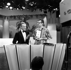 """""""Steve Allen Show, The""""Fred Astaire & Steve Allenc. 1960/NBCPhoto by Gerald Smith - Image 13414_0001"""