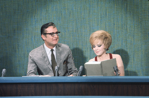 """The Steve Allen Show"" Steve Allen and Edie Adams circa 1958 Photo by Gerald Smith - Image 13414_0003"