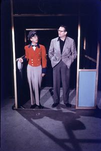 """Steve Allen Show, The""Don Knotts & Steve AllenFeb. 1958/NBCPhoto by Gerald Smith - Image 13414_0004"