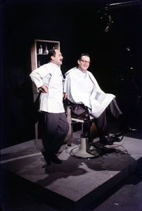 """Steve Allen Show, The""Steve Allen & Louis NyeFeb. 1958/NBCPhoto by Gerald Smith - Image 13414_0007"