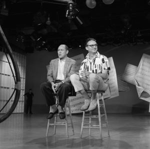 """The Steve Allen Plymouth Show""Johnny Mercer, Steve Allencirca 1960© 1978 Gerald Smith - Image 13414_0012"