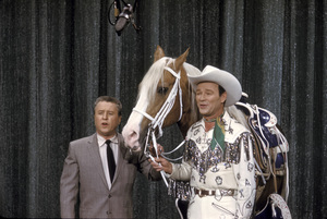 """All-Star Chevy Show""George Gobel, Roy Rogers1959Photo by Gerald Smith - Image 13417_0001"