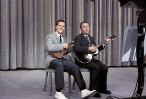 """All-Star Chevy Show""Pat Boone, George Gobel1957Photo by Gerald Smith - Image 13417_0013"
