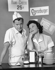 """Westinghouse Playhouse""Tony Randall, Nanette Fabray1961Photo by Gerald Smith - Image 13433_0001"