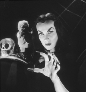 "Maila Nurmi as ""Vampira,"" the first TV horror hostess for ABC1954** I.V. - Image 13440_0002"