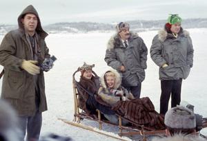 """U.S.O. Tour"" (Alaska)Hedda Hopper, Ginger Rogers, Jerry Colonna, Bob Hope1956 © 1978 Gerald Smith - Image 13446_0004"