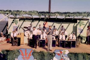 """U.S.O. Tour""(Japan)Bob Hope1957Photo By Gerald SmithMPTV - Image 13447_4"