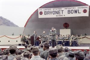 """U.S.O. Tour"" (Korea) Bob Hope 1957 Photo By Gerald Smith - Image 13448_0002"