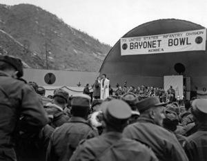 """U.S.O. Tour"" (Korea) Les Brown1957 © 1978 Gerald Smith - Image 13448_0010"
