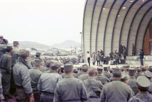 """""""U.S.O. Tour"""" (Korea)Bob Hope 1957 © 1978 Gerald Smith - Image 13448_0011"""
