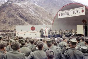 """U.S.O. Tour"" (Korea)Les Brown 1957© 1978 Gerald Smith - Image 13448_0012"