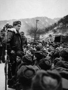 """""""U.S.O. Tour""""(Korea)Bob Hope1957Photo By Gerald SmithMPTV - Image 13448_1"""