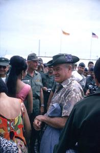 """U. S. O. Tour"" (Southeast Asia - Vietnam)Bob Hope, 1966.Photo by Gerald Smith - Image 13450_0018"