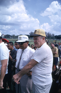 """U. S. O. Tour"" (Southeast Asia - Thailand)Bob Hope at the Royal Thailand Golf Course, 1966.Photo by Gerald Smith - Image 13450_0027"