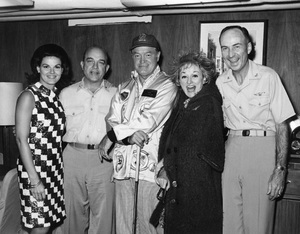 """U.S.O. Tour"" (Southeast Asia)Anita Bryant, Bob Hope, Phyllis Diller1966 © 1978 Gerald K. Smith - Image 13450_0036"