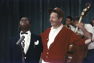 """All-Star Christmas Show""Louis Armstrong, Danny Kaye1958Photo by Gerald Smith - Image 13454_0007"