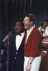"""All-Star Christmas Show""Louis Armstrong, Danny Kaye1958Photo by Gerald Smith - Image 13454_0008"