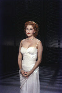 """""""All-Star Christmas Show""""Rhonda Fleming1958Photo by Gerald Smith - Image 13454_0019"""