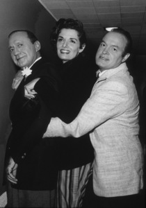 """""""All-Star Christmas Show""""Jack Benny, Jane Russell and Bob Hope1958Photo By Gerald Smith MPTV - Image 13454_2"""