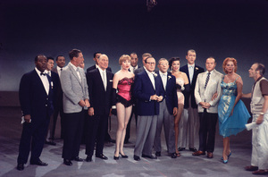 """All-Star Christmas Show""Louis Armstrong, Shirley MacLaine, Jack Benny, George Burns, Jane Russell, James Stewart, Bob Hope, Rhonda Fleming 1958Photo By Gerald Smith - Image 13454_5"