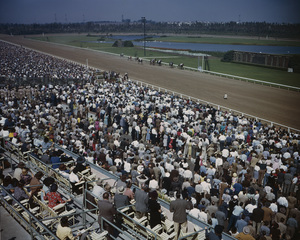 Hollywood Park Racetrackcirca 1950 © 1978 Kirby Kean - Image 13475_0002