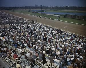 Hollywood Park Racetrackcirca 1950 © 1978 Kirby Kean - Image 13475_0002