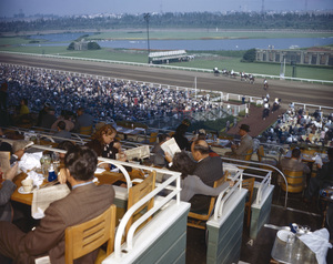 Hollywood Park Racetrackcirca 1950 © 1978 Kirby Kean - Image 13475_0004