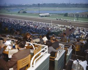 Hollywood Park Racetrackcirca 1950 © 1978 Kirby Kean - Image 13475_0004