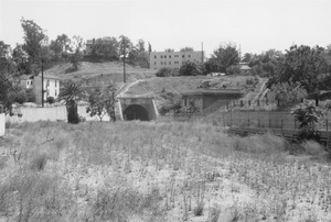 Historical CategoryRed Car Tunnel, (Pacific Electric Subway) at 1st near Glendale Blvd., Los Angeles, CA7-10-1964Photo by Leo Caloia**K.B. - Image 13480_0012
