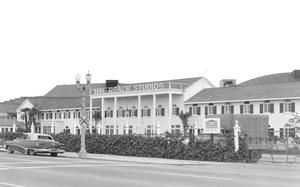 Historical CategoryHal Roach Studios before demolition in 19638822 Washington Boulevard, near the railroad tracks at National Blvd, Culver City, CA1963Photo by Leo Caloia**K.B. - Image 13480_0016