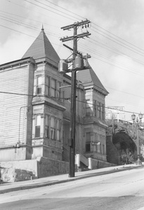 Historical CategoryOlive and Grand, Los Angeles, CANovember 1960Photo by Leo Caloia**K.B. - Image 13480_0018